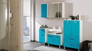 Waschbeckenunterschrank – viele Farben und Formen